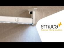 Barra de armario LED Pix Emuca A 713 mm luz blanca fría con sensor de movimiento - Ítem6