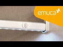 Barra de armario LED Pix Emuca A 863 mm luz blanca fría con sensor de movimiento - Ítem7