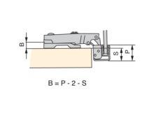 Bisagra C91 recta - Ítem2