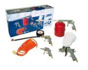 Juego 5 pistolas ABAC con conexión rápida