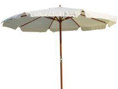 Parasol madera barnizada