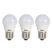 Pack 3 Mini globo LED 4W E27