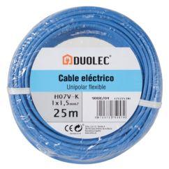 Cable eléctrico unipolar 25 mts