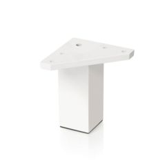 Pata mueble cuadrada blanca