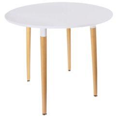Mesa redonda madera Duo