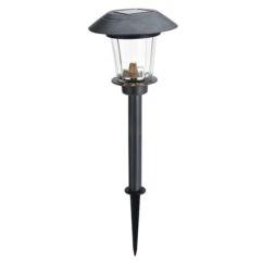 Estaca LED solar inox 52 cm