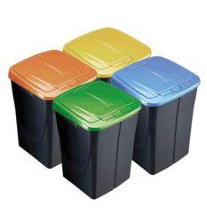 Cubos reciclaje 45 LT.
