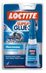 Loctite Super Glue-3 Profesional Adhesivo instantáneo de alto rendimiento, 20gr