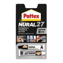 Adhesivo PATTEX Nural 27 reparador soldadura super rápida, 22ml