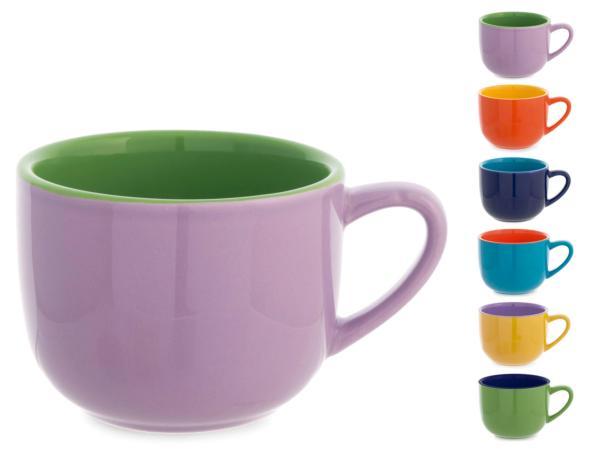 juego 6 tazas ceramicá