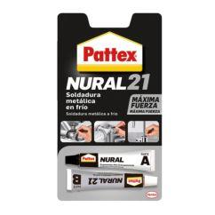 Pattex Nural 21 soldadura metálica reparadora en frío, 22ml
