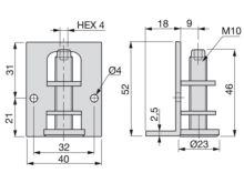 Nivelador interior M10 - Ítem2
