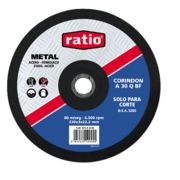 Disco corte metal Ratio