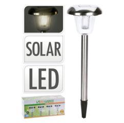 4 lámparas LED inox diámetro 11 cm