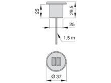 Conector USB Plugy - Ítem2