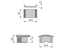 Accesorios de remate perfil difusor - Ítem1