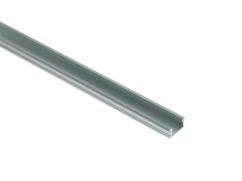 Kit perfil aluminio LED empotrar+difusor+tapas