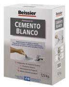 Cemento blanco aditivado