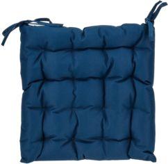 Cojín básico. 40x40x6 cm. Azul.
