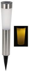 Estaca solar 2 Led cilindrico 56 cm