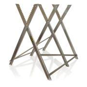Caballete de aluminio para troncos Garland