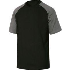 *Camiseta DELTAPLUS Match Spring gris/negro