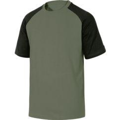 Camiseta DELTAPLUS Match Spring verde/negro