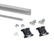 Kit 1 puerta Placard Hill-19 Aluminio