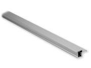 Tram perfil estante aluminio con cristal