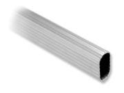 Barra de aluminio estriado