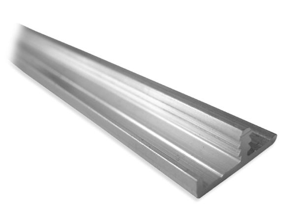 Face 2 perfiles para canto de puerta de madera - Perfiles de aluminio para armarios ...