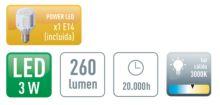 Aplique LED Praga-4 - Ítem1