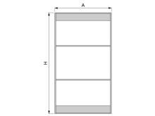 Conjunto 2 puertas FREE (1interior + 1exterior) - Ítem1