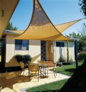 Toldo sombra triangular