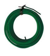 Alambre hierro plastificado verde