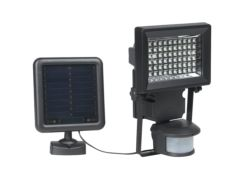 Foco solar con sensor movimiento color negro Duracell