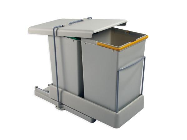 cubos de basura reciclaje