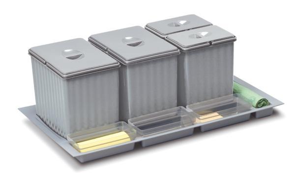 Contenedores para cajón de 1000mm