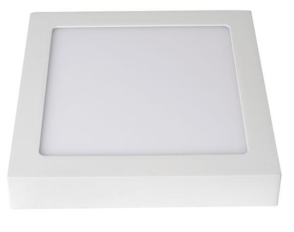 Aplique LED superficie Milán cuadrado