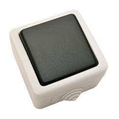 Conmutador de Jardín color gris Duolec
