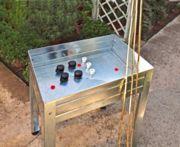 Mini mesa de cultivo + kit de cañas de bambú