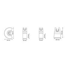 Accesorios multiherramienta kit 4 unidades Multitool Ratio - Ítem1
