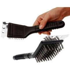 Cepillo limpieza barbacoas