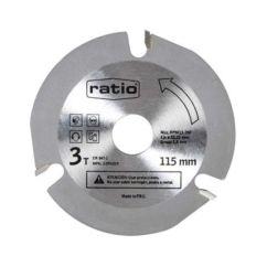 Disco amoladora especial madera Ratio