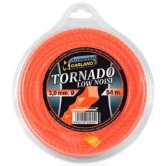 Hilo de nilón tornado en espiral Garland