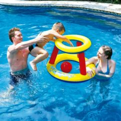 Juego baloncesto inflable
