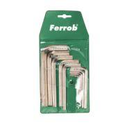Juego llave allen 11 piezas Ferrob