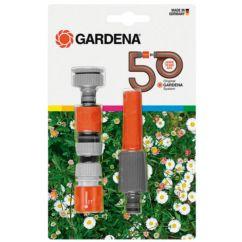 Kit lanza y 2 conectores riego Edición 50 aniversario Gardena