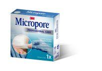 3M FUTURO MICROPORE ESPARADRAPO PAPEL BLANCO 5M X 1,25 MM