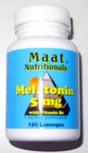 MELATONIN MAAT 5MG VIT. B6 SUBLINGUAL 120 COMPRIMIDOS